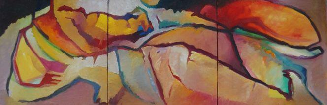 Birotic, Ölmalerei, Abstrakter expressionismus, Malerei