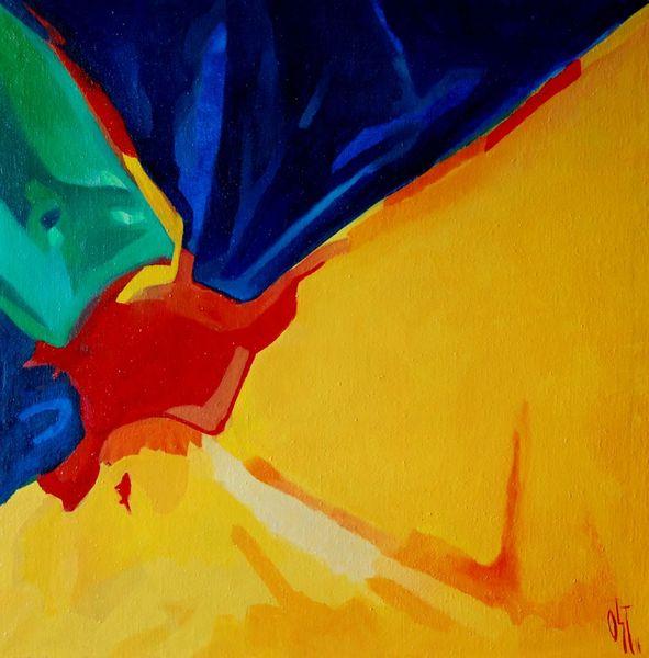 Abstrakter expresionismus, Birotik, Ölmalerei, Malerei, Liebe, Strand