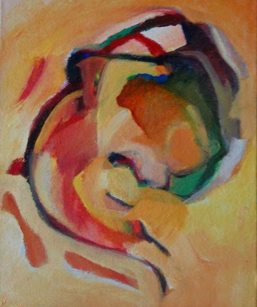 Abstrakter expressionismus, Rede, Glaube, Brief, Ölmalerei, Malerei