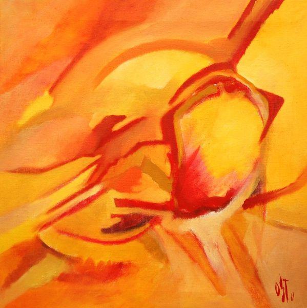 Abstrakter expresionismus, Ölmalerei, Birotic art, Malerei, Abstrakt, Herz