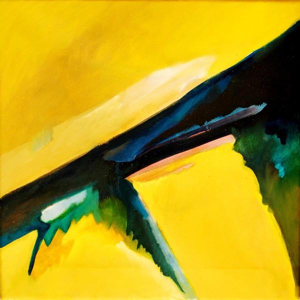 Ölmalerei, Malerei, Abstrakt, Hitze