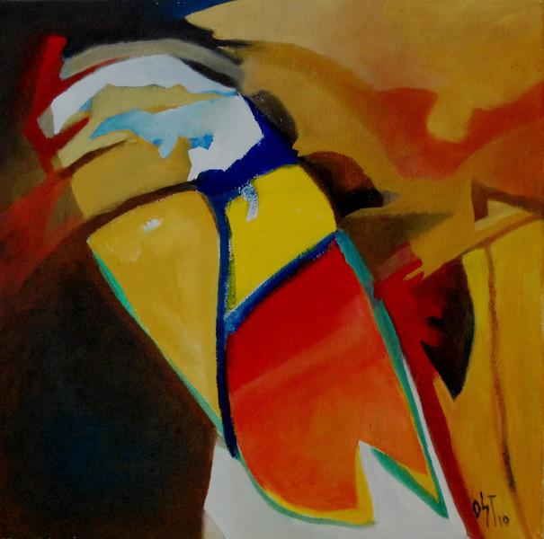 Ölmalerei, Malerei, Abstrakt, Hoffnung