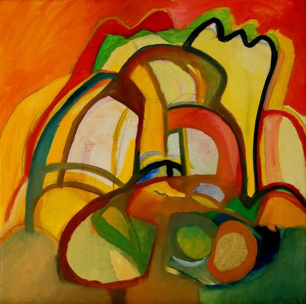 Ölmalerei, Malerei, Landschaft