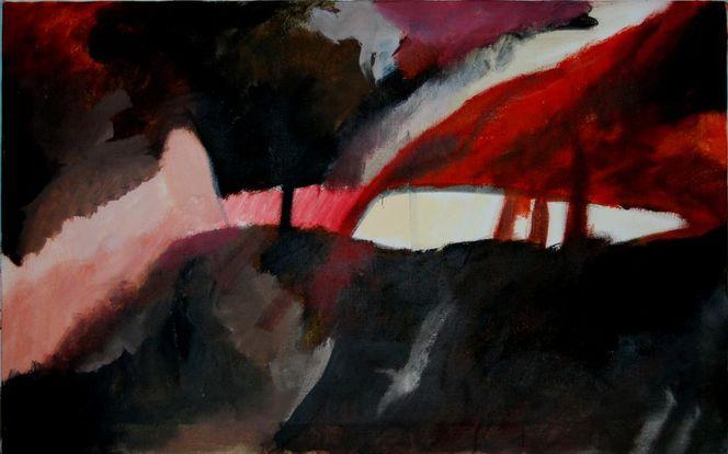 Ölmalerei, Birotik art, Farben, Abstrakter expressionismus, Gras, Romanze