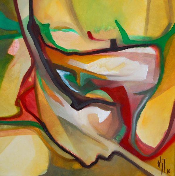 Birotik art, Abstrakt, Ölmalerei, Malerei, November