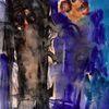 Blau, Kalt, Surreal, Abstrakt