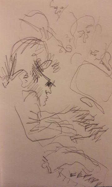 Junge, Genie, Spiel, Zeichnungen