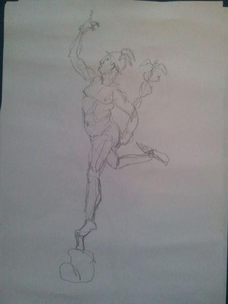 Zeichnungen, Ikarus