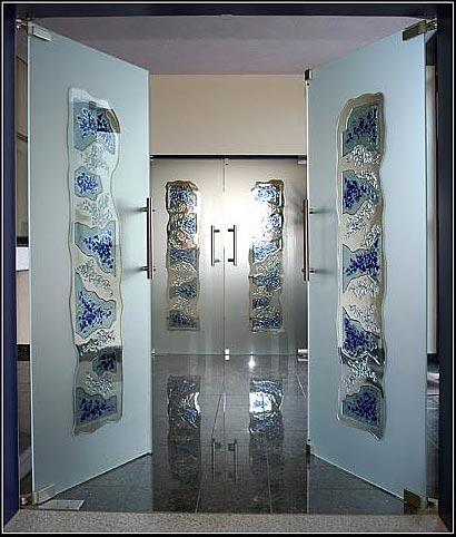 Ganzglastüren, Zimmertüren, Glas, Thüringen, Glasdesign, Glastür