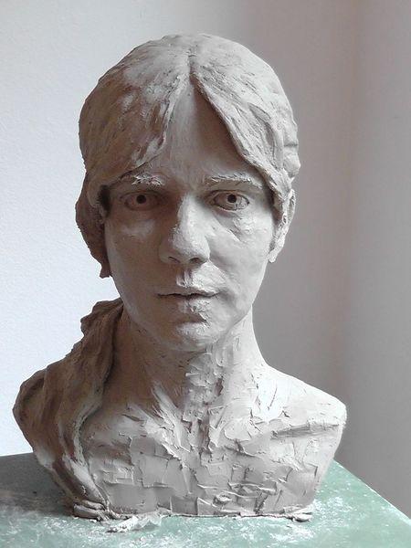 Büste, Skulptur, Weiblich, Portraitbüste, 3d, Plastik