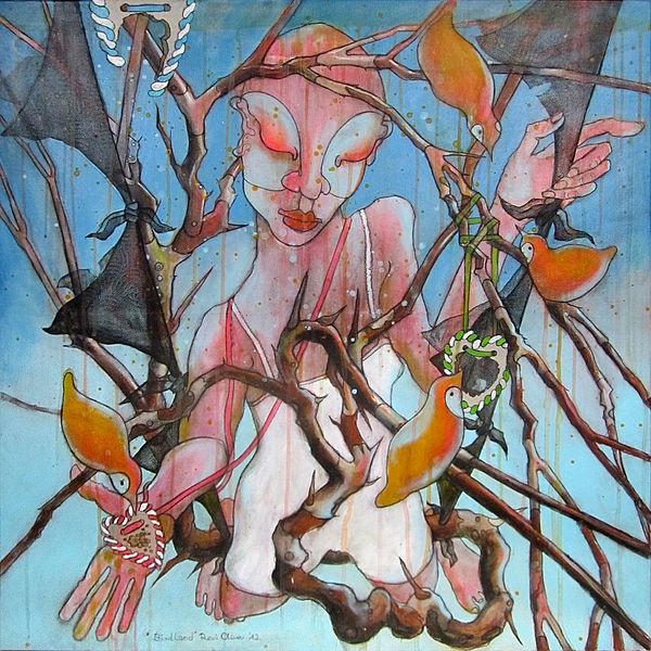 Vogel, Malerei, Expressionismus, Zeichnen, Bayer, Surreal