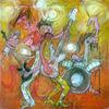 Treffer, Humor, Expressionismus, Schlagzeug