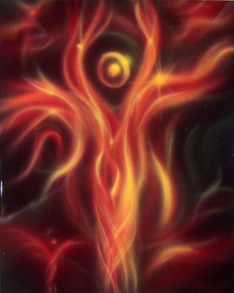 Erscheinung, Schöpfung, Engel, Energie, Schutzengel, Malerei
