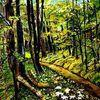 Wald, Aquarell, Geschenke