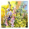 Blumen, Fingerhut, Rittersporn, Pleinair