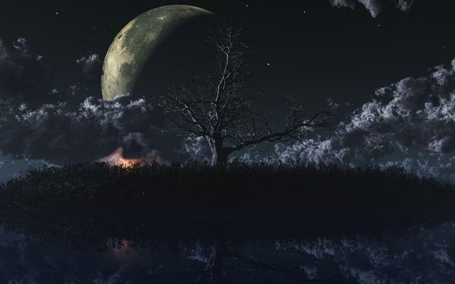 See, Mond, Digitale kunst