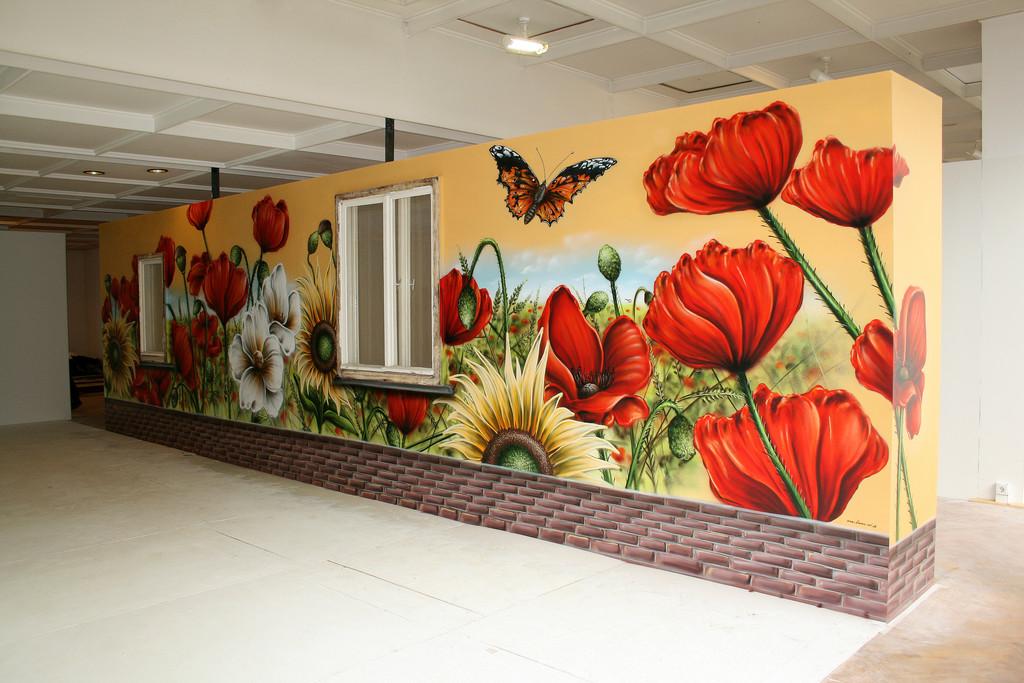 Wand Gestaltung Malerei : Bild malerei pflanzen figural von lars oschatz bei kunstnet
