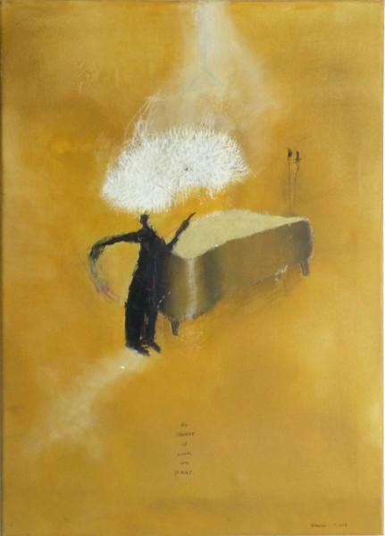 Malerei, Abstrakt, Mörder, Haus