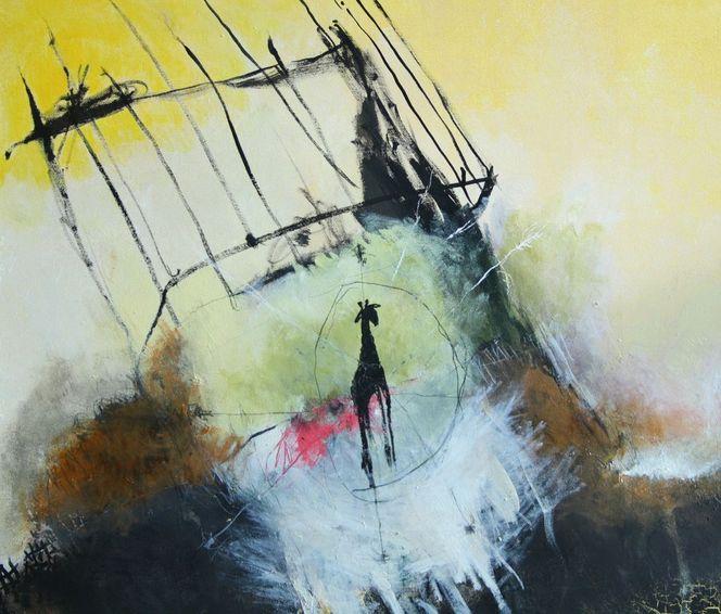 Malerei, Abstrakt, Frei