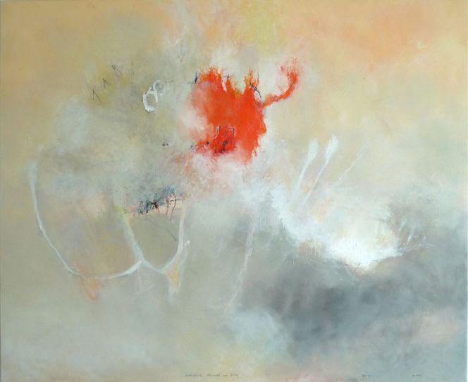Raininet, Malerei, Abstrakt, Wiedergeburt, Sehnsucht, Alltag