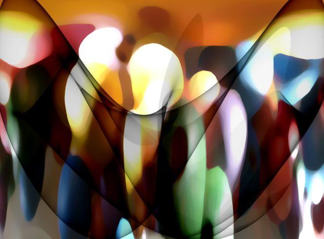 Trauen, Kerzen, Advent, Flügel, Lichtlein, Abstrakt