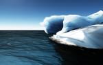 Arktis, Eisberg, Polar, Horizont