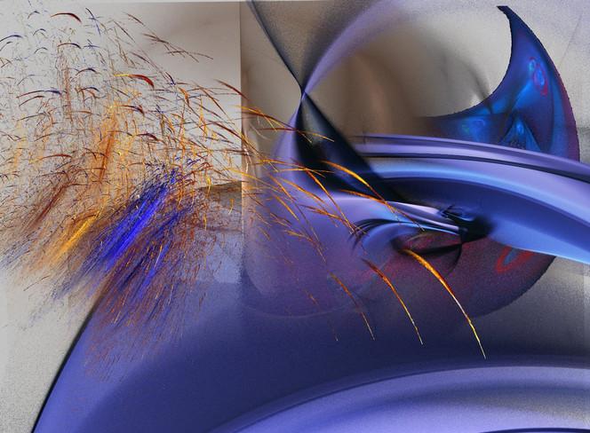 Digitale kunst, Abstrakt, Gier