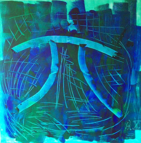 Malerei, Abstrakt, Zeichen