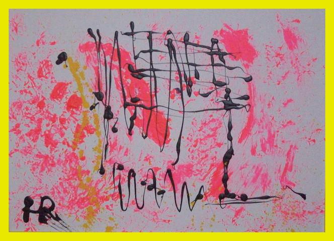 Malerei, Abstrakt, Melodie,