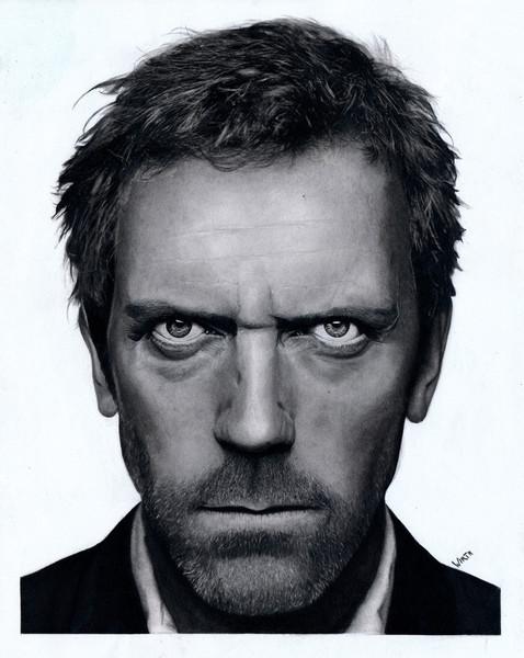 Greg, Gesicht, Portrait, Berühmt, Laurie, Zeichnung