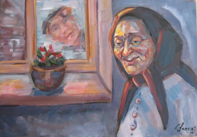 Figural, Malerei, Erinnerung