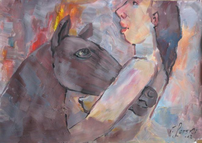 Malerei, Freundschaft,