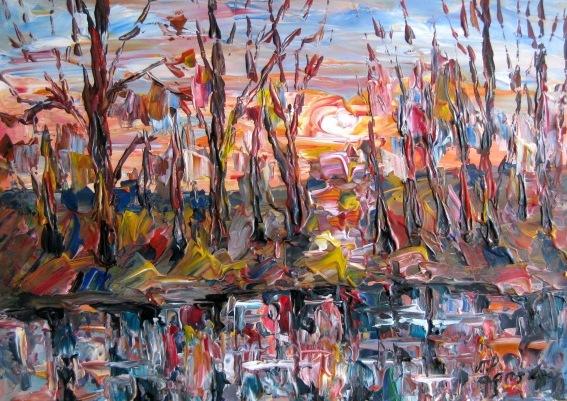 Malerei, Untergang