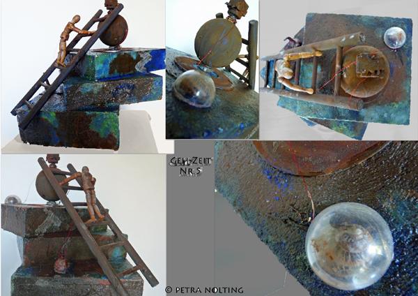 Moos, Uhr zeit, Zeit, Stein, Schneckenhaus stein, Rolling