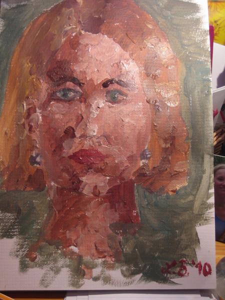 Portrait, Malerei,