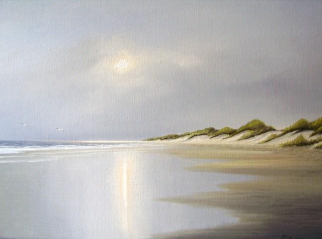 Wasser, Insel, Meer, Nordsee, Spiekeroog, Malerei