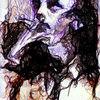 Blick, Portrait, Horn, Rauch