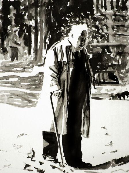 Portrait, Mann, Licht, Schwarz weiß, Menschen, Schatten