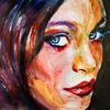 Frau, Ausdruck, Portrait, Blick