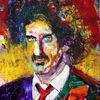 Menschen, Farben, Gesicht, Expressionismus