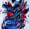 Abstrakt, Rot, Farben, Kraft