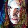 Ausdruck, Farben, Portrait, Menschen