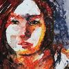 Gesicht, Farben, Portrait, Figurativ