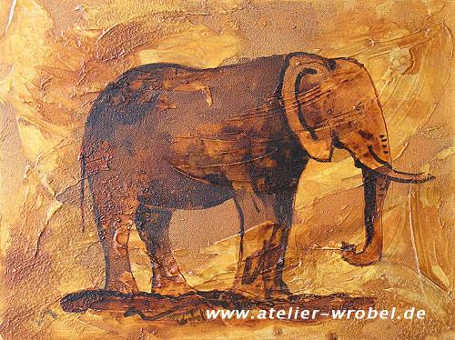Elefant, Prähistorisch, Malerei, Jagd, Caveart, Höhlenmalerei