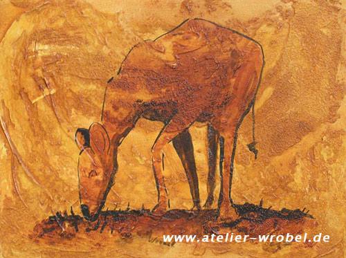 Prähistorisch, Höhlenmalerei, Caveart, Jagd, Malerei