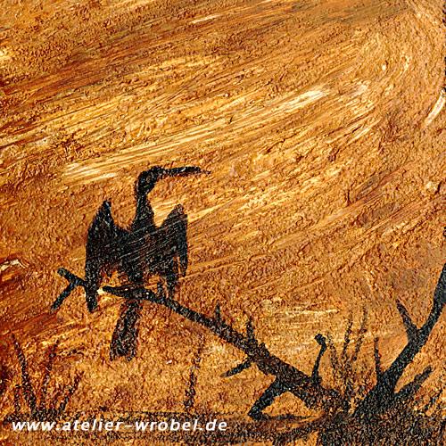 Malerei, Tiere, Vogel