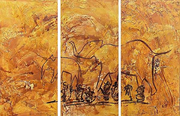 Caveart, Jagd, Malerei, Prähistorisch, Höhlenmalerei