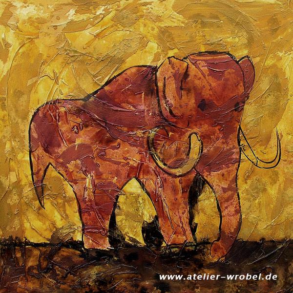Caveart, Mammut, Prähistorisch, Elefant, Jagd, Malerei