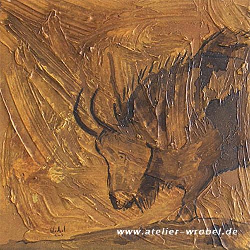 Malerei, Caveart, Jagd, Prähistorisch, Höhlenmalerei