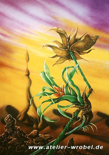 Malerei, Natur, Acrylmalerei, Airbrush, Landschaft, Surreal